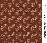 line thai art pattern vector... | Shutterstock .eps vector #155213012