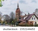 St. Adalbert church in Zelenogradsk. Nowadays it is an Orthodox church.