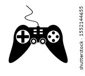 game console on white...   Shutterstock .eps vector #1552144655