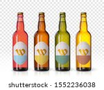 wheat beer ads  realistic... | Shutterstock .eps vector #1552236038
