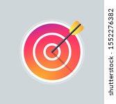 target icon  logo colorful....