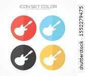 guitar icon in trendy flat... | Shutterstock .eps vector #1552279475