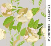 seamless pattern with beautiful ...   Shutterstock .eps vector #155230436