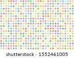 rainbow pastel circle dot...   Shutterstock .eps vector #1552461005