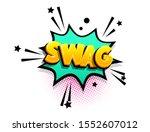 swag isometric comics text...   Shutterstock .eps vector #1552607012
