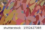 geometric design. colorful... | Shutterstock .eps vector #1552627385