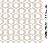 seamless vector art geometric... | Shutterstock .eps vector #155267282