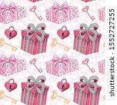 valentine's day cupid seamless... | Shutterstock . vector #1552727255