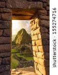 Machu Picchu  Peruvian Andes ...