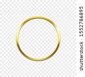 golden frame  ring decoration... | Shutterstock .eps vector #1552786895
