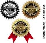 customer guarantee | Shutterstock .eps vector #155286155