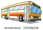 city public bus | Shutterstock .eps vector #155286236