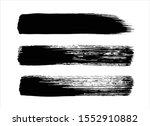 art brush abstract black ink... | Shutterstock .eps vector #1552910882