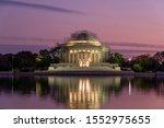 Thomas Jefferson Memorial  With ...