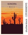 Sonora Retro Poster. Sonora...