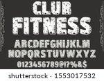 font alphabet script typeface ... | Shutterstock .eps vector #1553017532