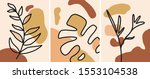 nordic abstract minimalist art...   Shutterstock .eps vector #1553104538