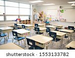 Classroom Of A Daycare Center...
