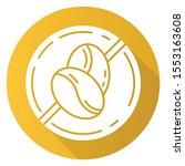caffeine free yellow flat... | Shutterstock .eps vector #1553163608