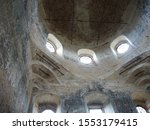 The Interior Of The Ruins Of A...