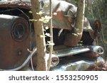 Old Abandoned Forgotten Car...