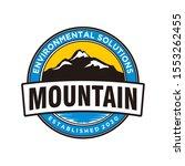 outdoor mountain nature logo  ... | Shutterstock .eps vector #1553262455