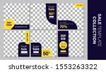 sale template collection for... | Shutterstock .eps vector #1553263322