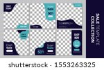 sale template collection for... | Shutterstock .eps vector #1553263325