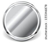 reflective metal plate  mirror | Shutterstock .eps vector #155346878