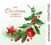square banner with text and... | Shutterstock .eps vector #1553475182