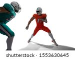 american football players... | Shutterstock . vector #1553630645