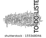 word cloud   to do list | Shutterstock . vector #155368046
