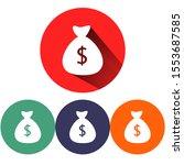 money bag vector icon . lorem...