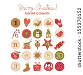 Advent Calendar With Various...
