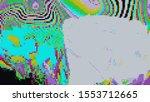 digital effects. vibrant... | Shutterstock . vector #1553712665