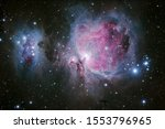 The Orion Nebula Is A Diffuse...