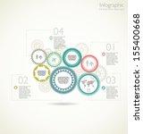 modern design template | Shutterstock .eps vector #155400668