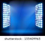 the stadium light towers....