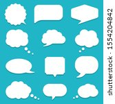 Set Of Speech Bubble  Textbox...