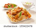 chicken biryani 2   Shutterstock . vector #155422478