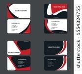modern wave creative vector... | Shutterstock .eps vector #1554324755