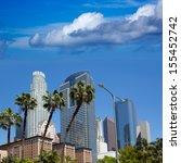 La Downtown Los Angeles Skylin...