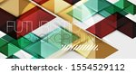 abstract geometric background.... | Shutterstock .eps vector #1554529112