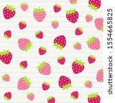 fruit pattern.cute fresh... | Shutterstock .eps vector #1554665825