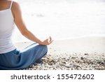 woman meditating | Shutterstock . vector #155472602