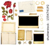 collection elements for... | Shutterstock . vector #155474192