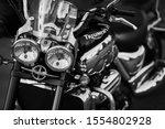 Triumph Bike Shot At Training