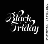 quote about black friday 2019 | Shutterstock .eps vector #1554881822