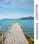 Pier Meditation Sunny Serenity