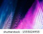 Closeup Led Blurred Screen. Le...